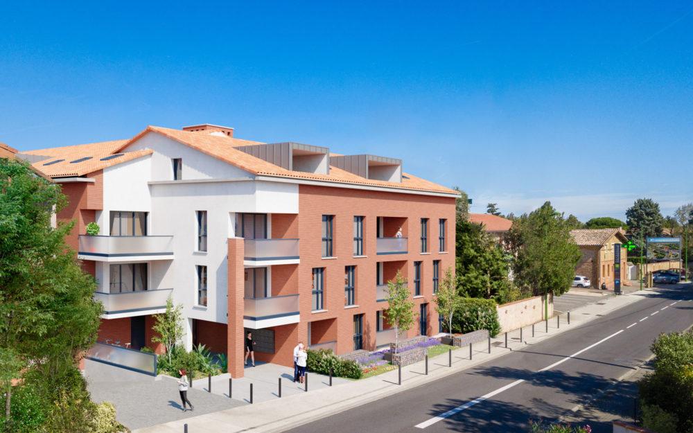 programme immobilier neuf 52 route de Seilh Aussonne - IDÉE DE VILLE