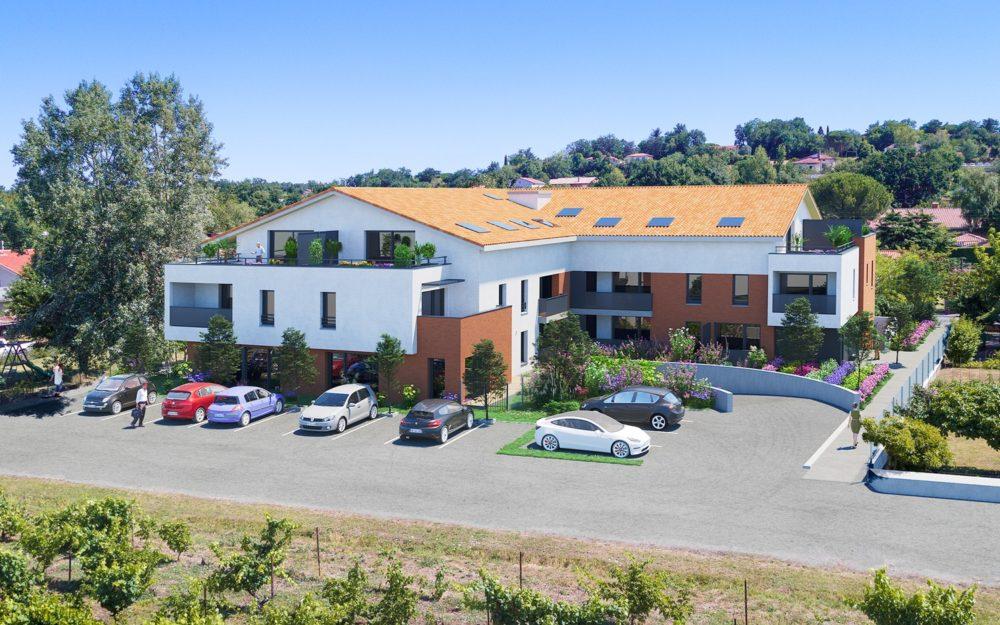 programme immobilier neuf 223 route de Baziège Labège - IDÉE DE VILLE